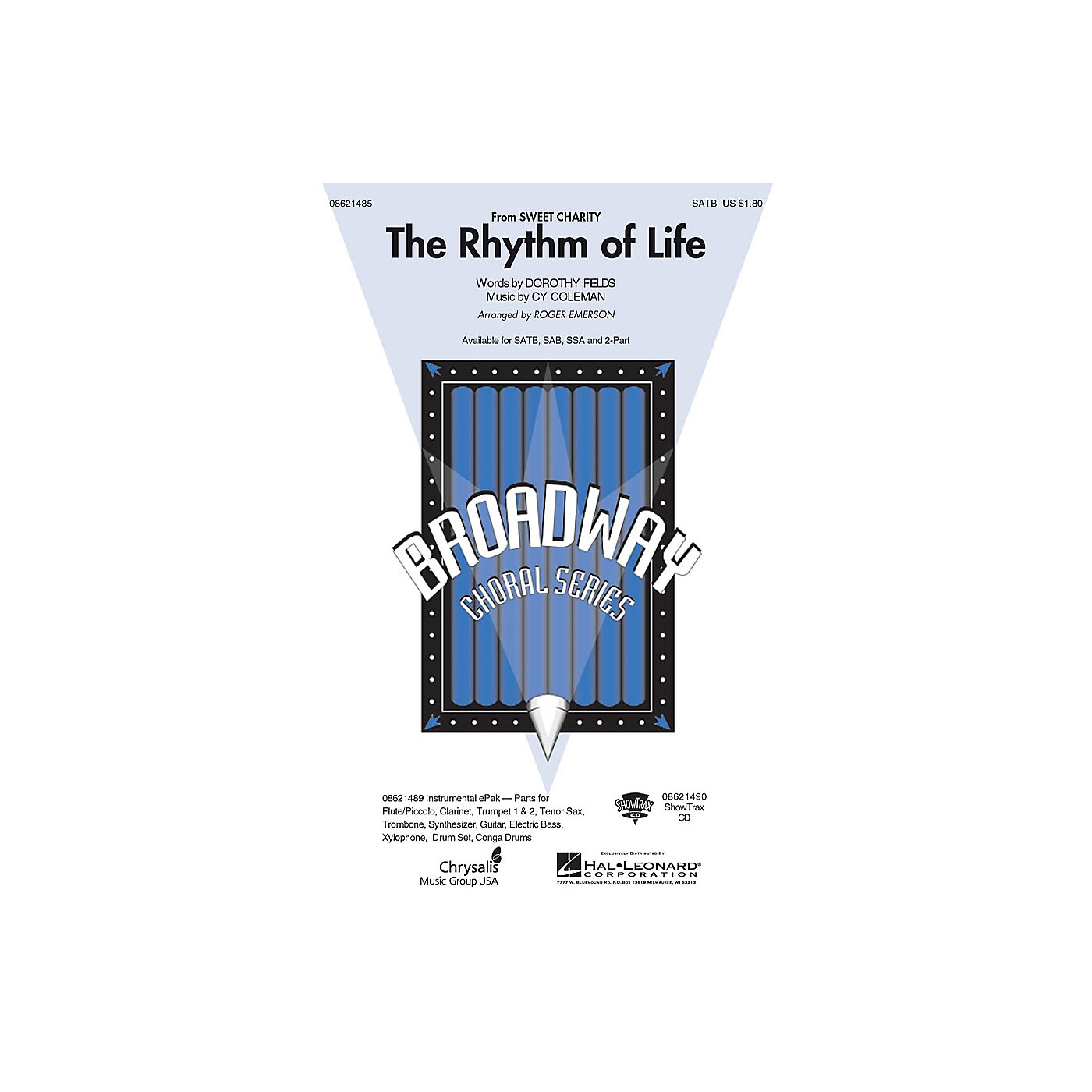 Hal Leonard The Rhythm of Life (from Sweet Charity) 2-Part Arranged by Roger Emerson thumbnail