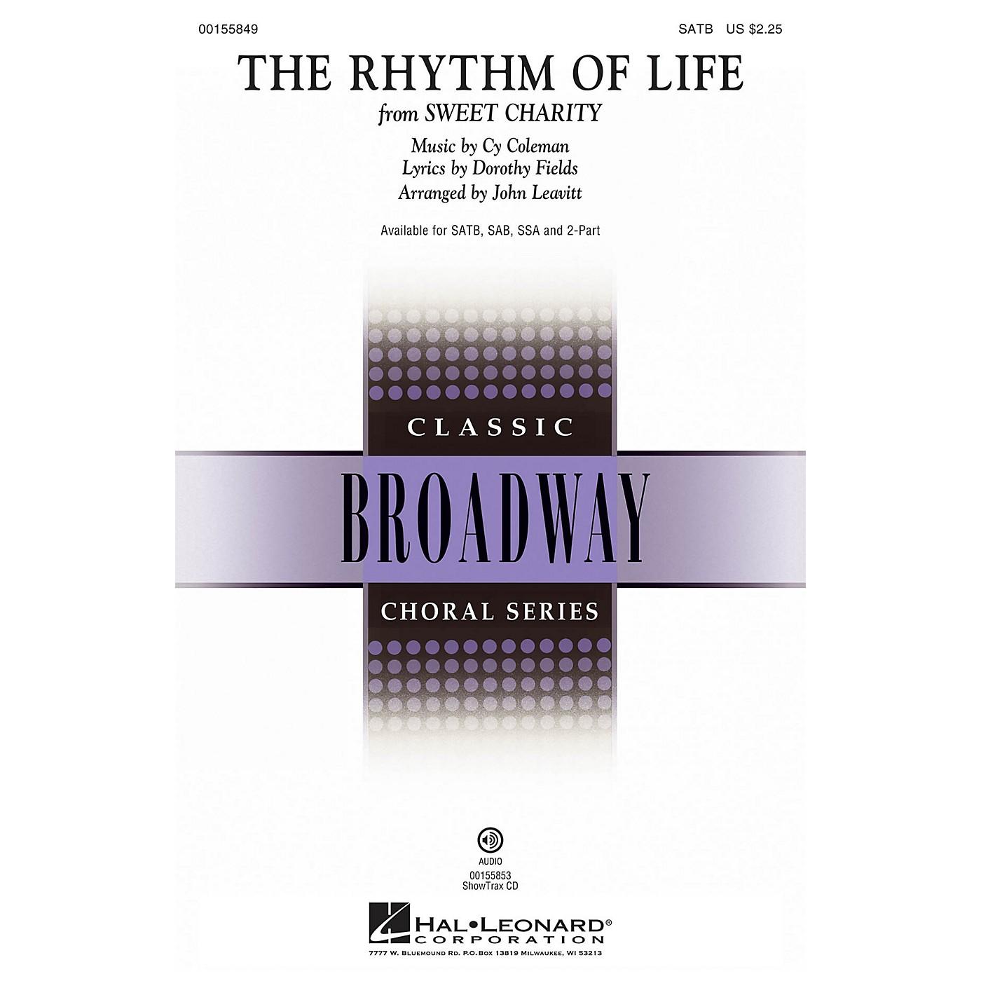 Hal Leonard The Rhythm of Life (from Sweet Charity) ShowTrax CD Arranged by John Leavitt thumbnail