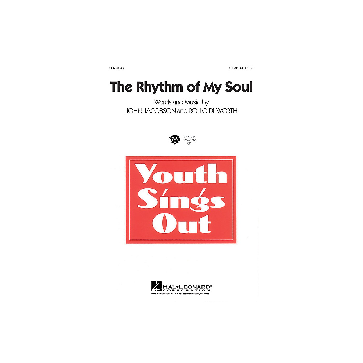 Hal Leonard The Rhythm of My Soul 2-Part composed by John Jacobson thumbnail