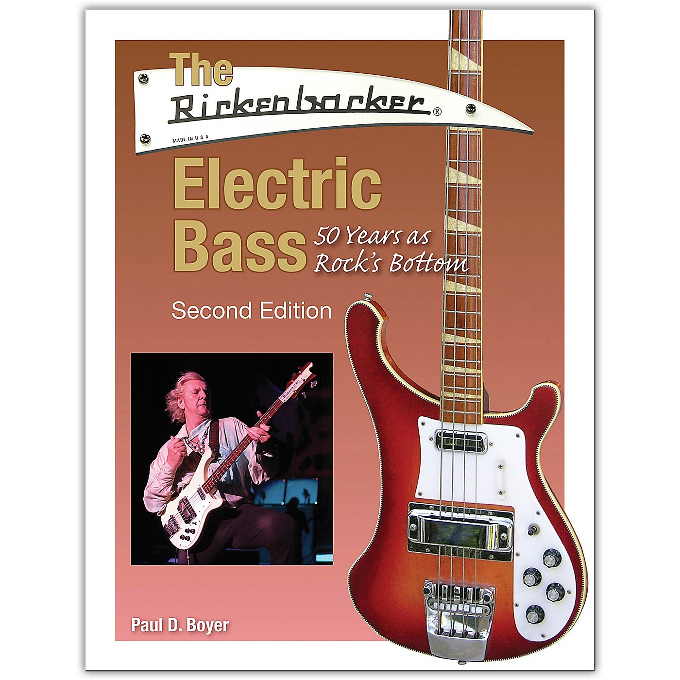 Hal Leonard The Rickenbacker Electric Bass - Second Edition Book Series Softcover Written by Paul D. Boyer thumbnail