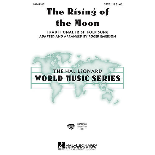 Hal Leonard The Rising of the Moon 2-Part Arranged by Roger Emerson thumbnail