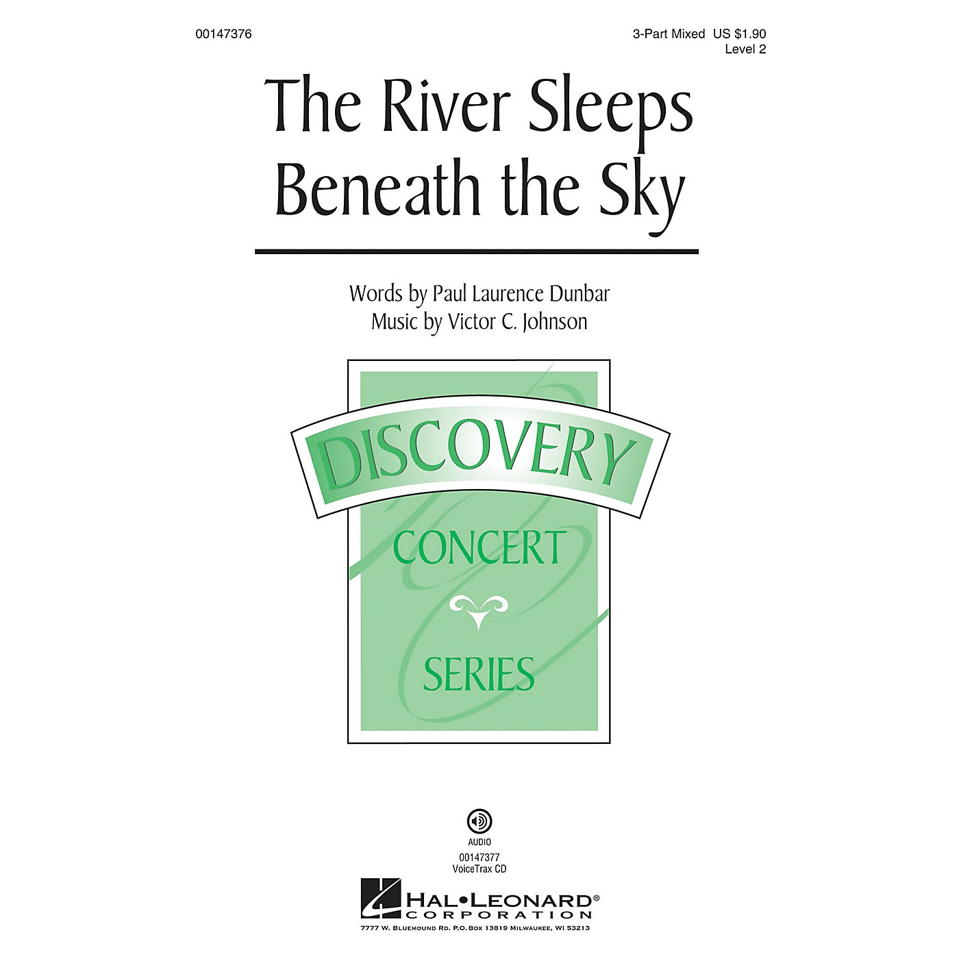 Hal Leonard The River Sleeps Beneath the Sky 3-Part Mixed composed by Victor C. Johnson thumbnail