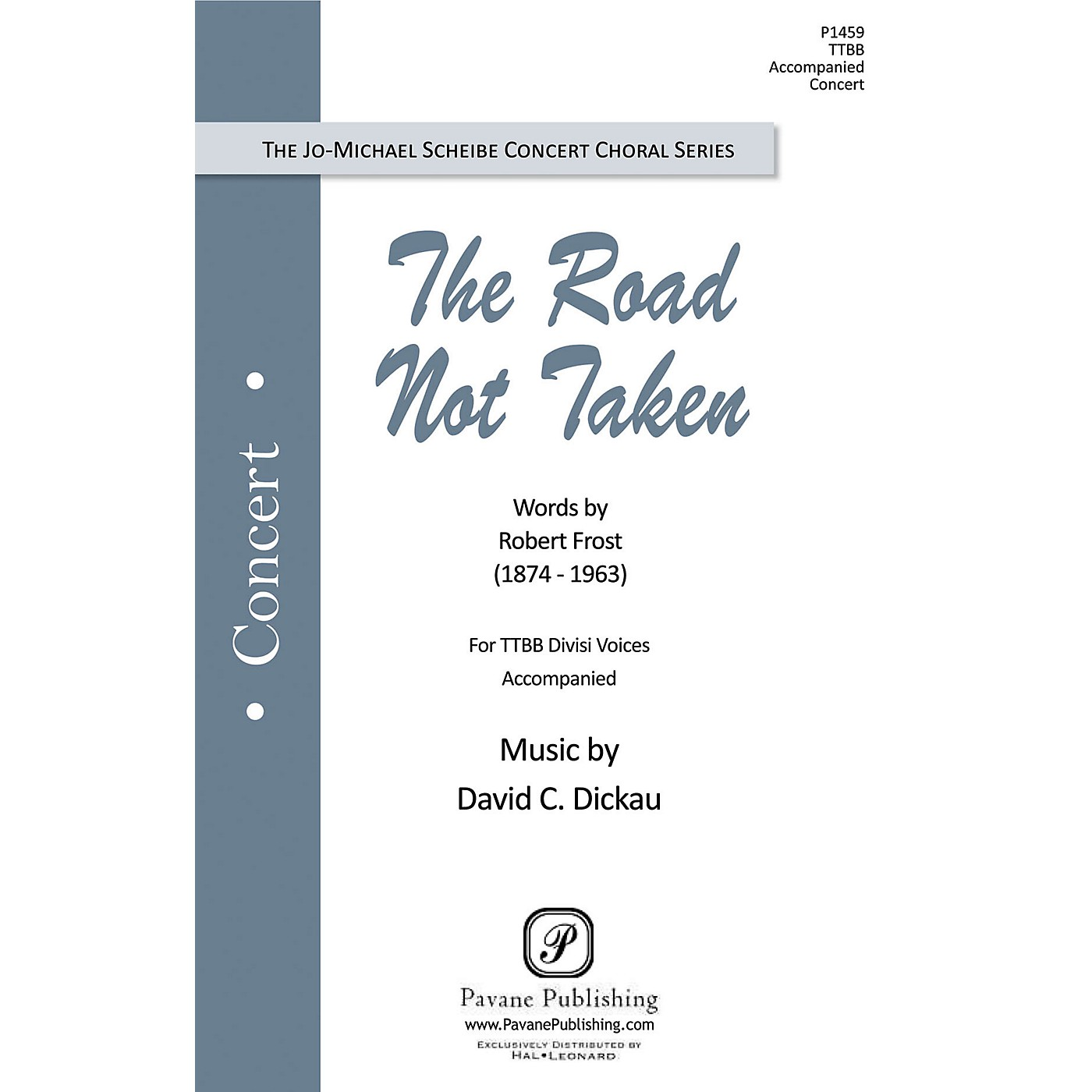 Pavane The Road Not Taken TTBB composed by David Dickau thumbnail