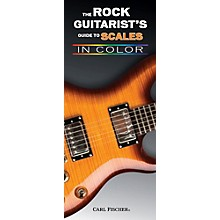 Carl Fischer The Rock Guitarist's Guide To Scales Book