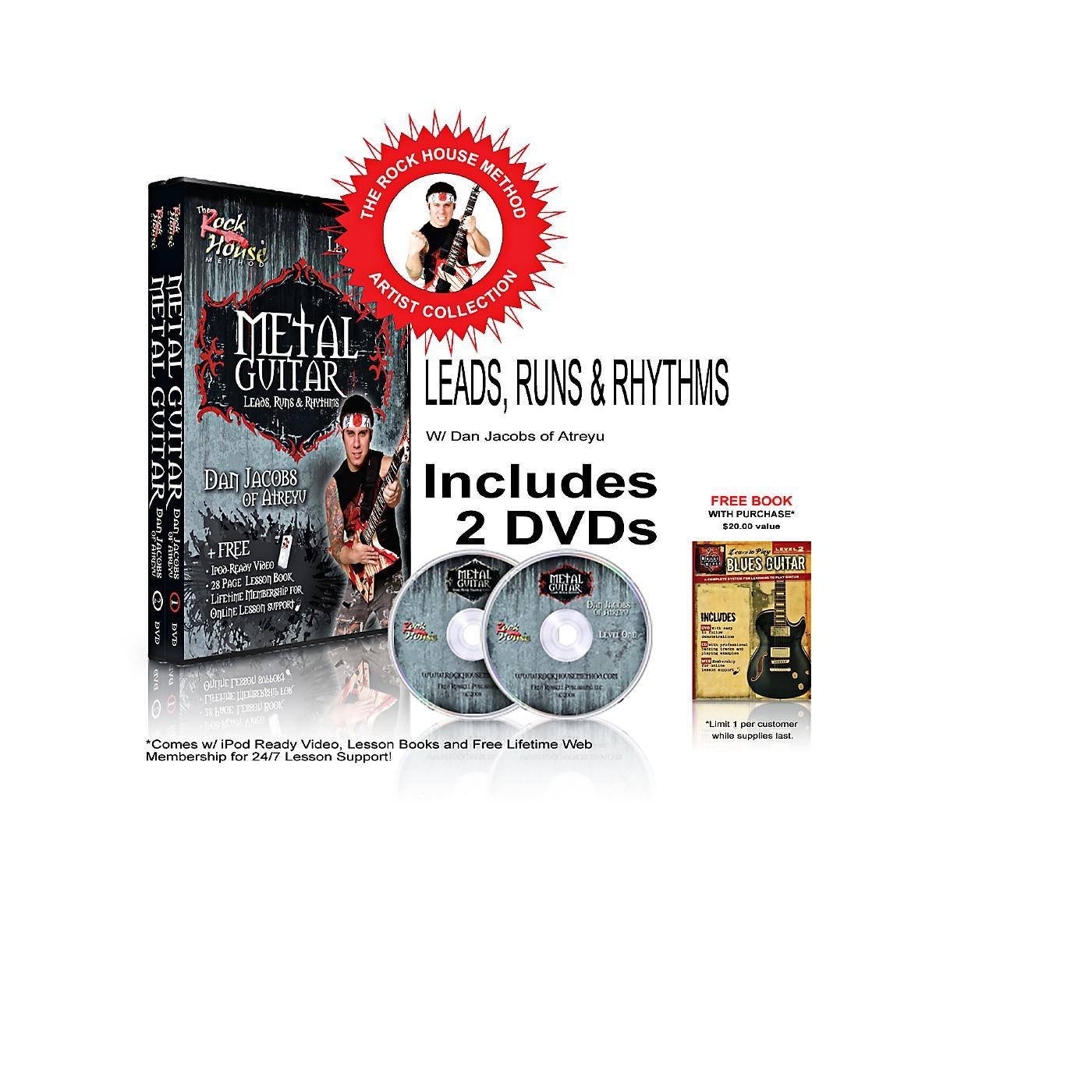 Hal Leonard The Rock House Method - Dan Jacobs DVD Collection thumbnail