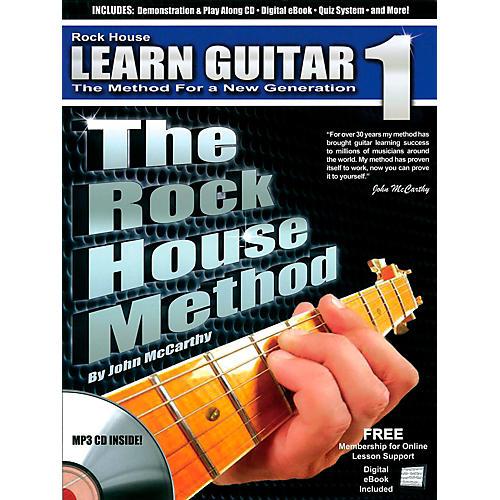 Rock House The Rock House Method - Learn Guitar Book 1 (Book/CD) thumbnail
