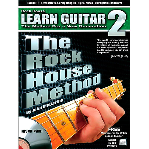 Rock House The Rock House Method - Learn Guitar Book 2 (Book/CD) thumbnail