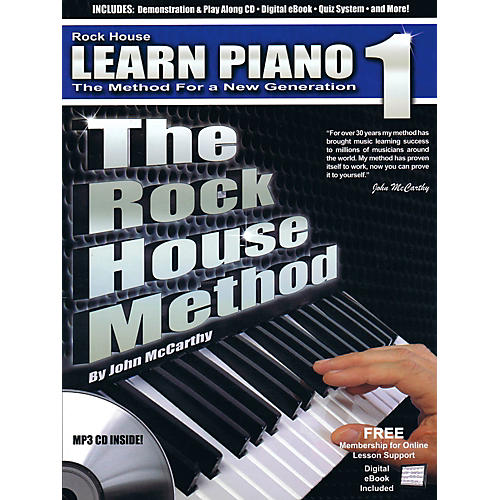 Rock House The Rock House Method - Learn Piano Book 1 (Book/CD) thumbnail