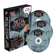 Hal Leonard The Rock House Method Metal Guitar Mega Pack (3-DVD Set)
