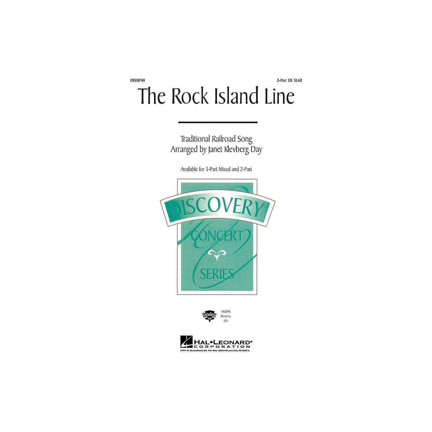 Hal Leonard The Rock Island Line 2-Part arranged by Janet Klevberg Day thumbnail