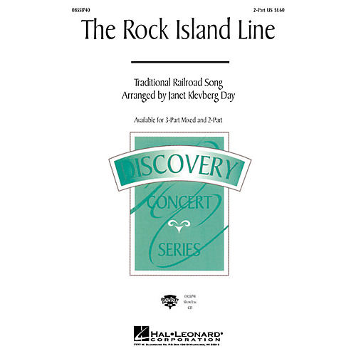 Hal Leonard The Rock Island Line 2-Part arranged by Janet Klevberg Day thumbnail