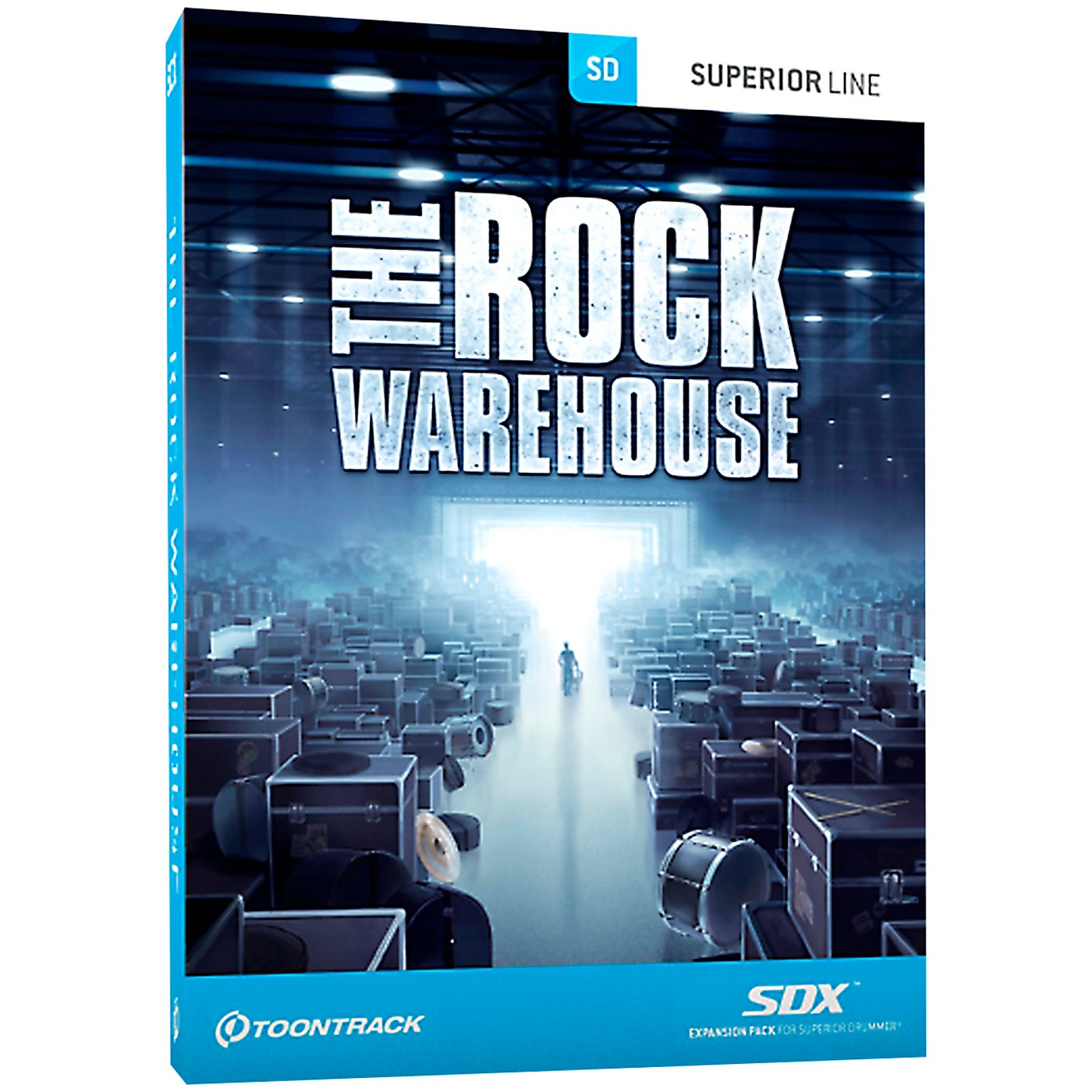 Toontrack The Rock Warehouse SDX Expansion Pack thumbnail