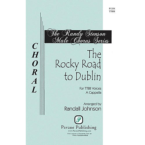 Pavane The Rocky Road to Dublin (The Randy Stenson Male Chorus Series) Accompaniment Edition by Randall Johnson thumbnail