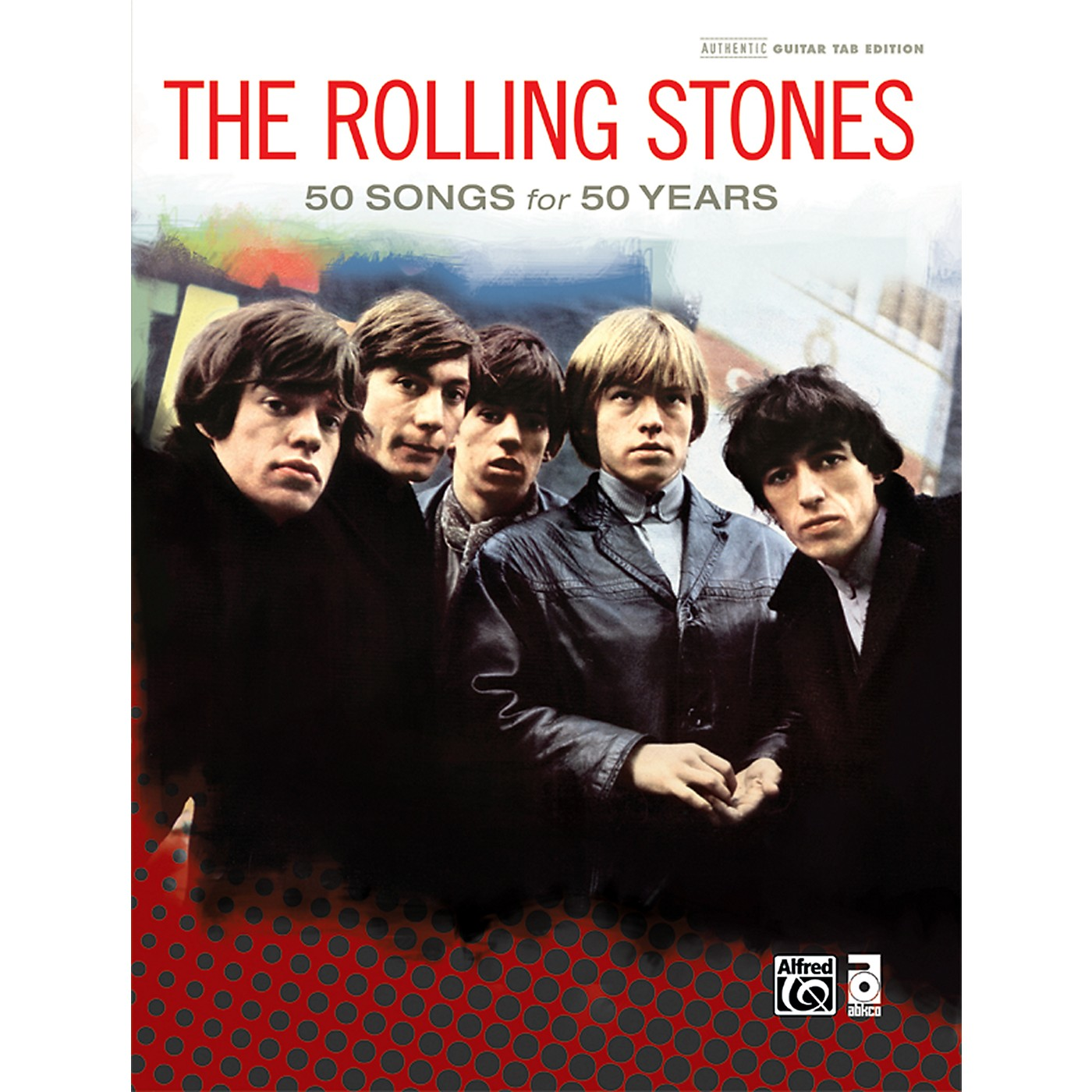 Alfred The Rolling Stones - 50 Songs for 50 Years Hardcover Guitar TAB Book thumbnail