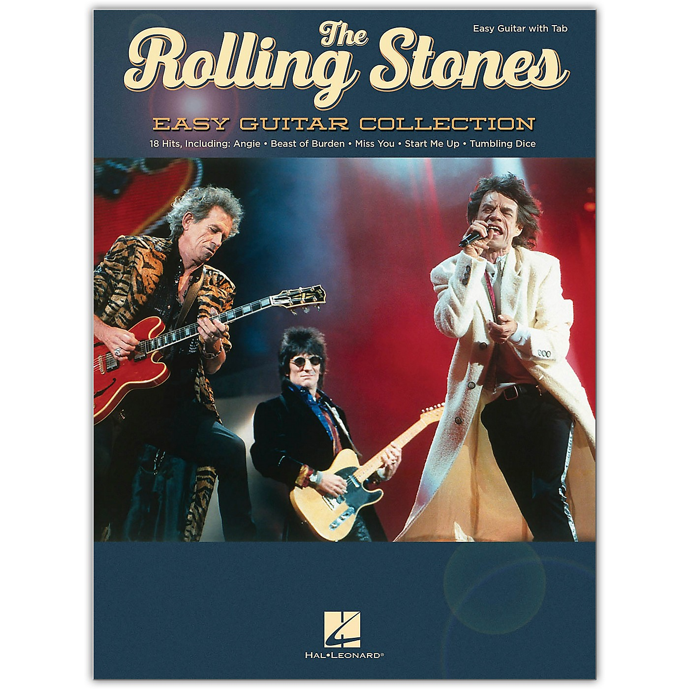 Hal Leonard The Rolling Stones - Easy Guitar Collection Songbook thumbnail