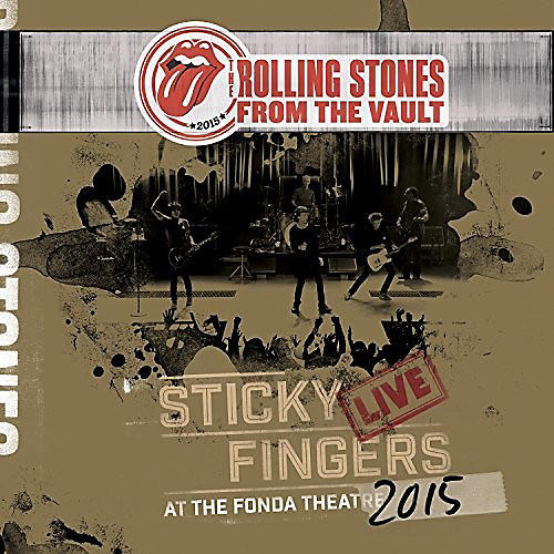 Alliance The Rolling Stones - From The Vault - Sticky Fingers: Live At The Fonda Theater 2015 thumbnail