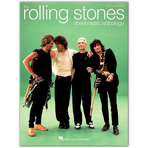 Hal Leonard The Rolling Stones Sheet Music Anthology P/V/G Piano/Vocal/Guitar thumbnail
