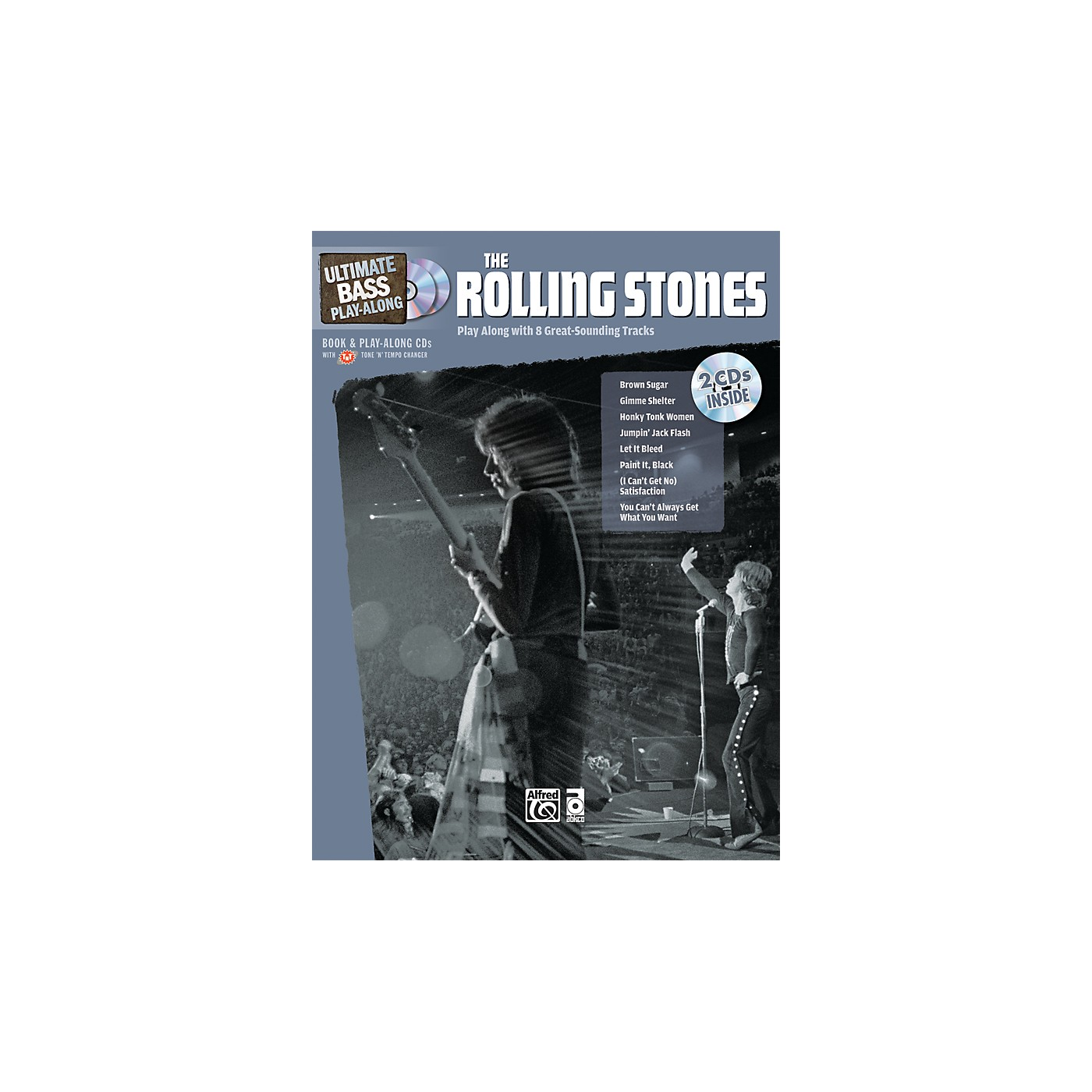 Alfred The Rolling Stones Ultimate Bass Play-Along (Book/2 CDs) thumbnail