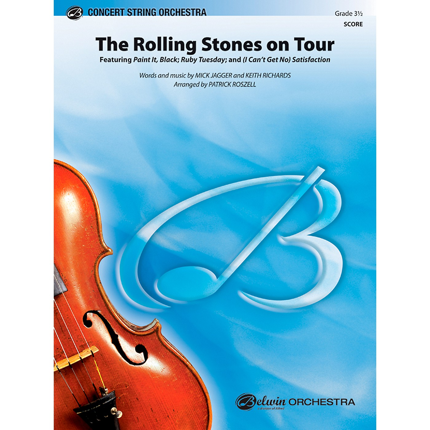 Alfred The Rolling Stones on Tour Concert String Orchestra Grade 3.5 Set thumbnail