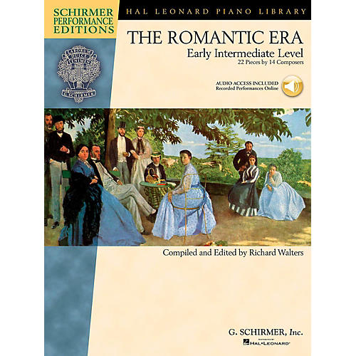 G. Schirmer The Romantic Era - Early Intermediate Level Schirmer Performance Editions Book Online Audio Access thumbnail