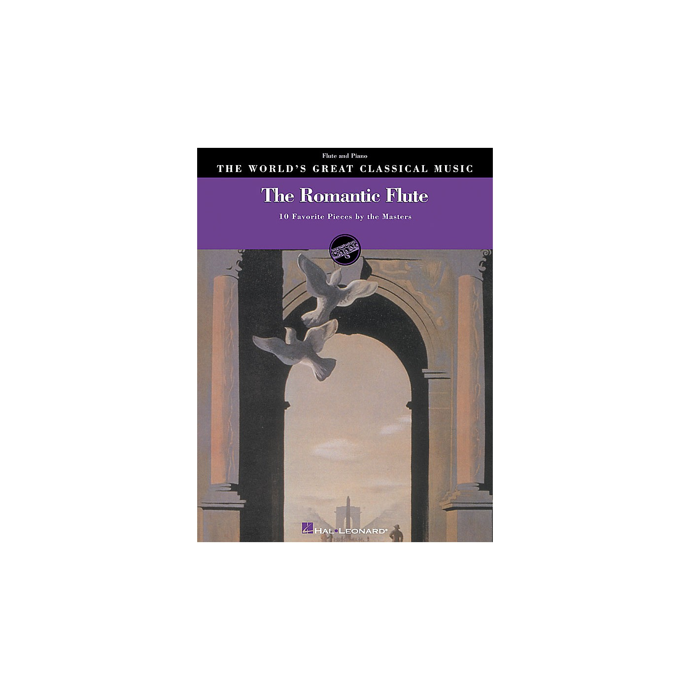 Hal Leonard The Romantic Flute World's Greatest Classical Music Series thumbnail