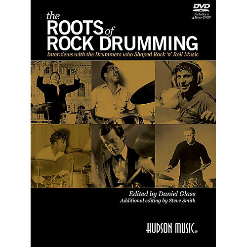 Hudson Music The Roots of Rock Drumming Book/DVD thumbnail