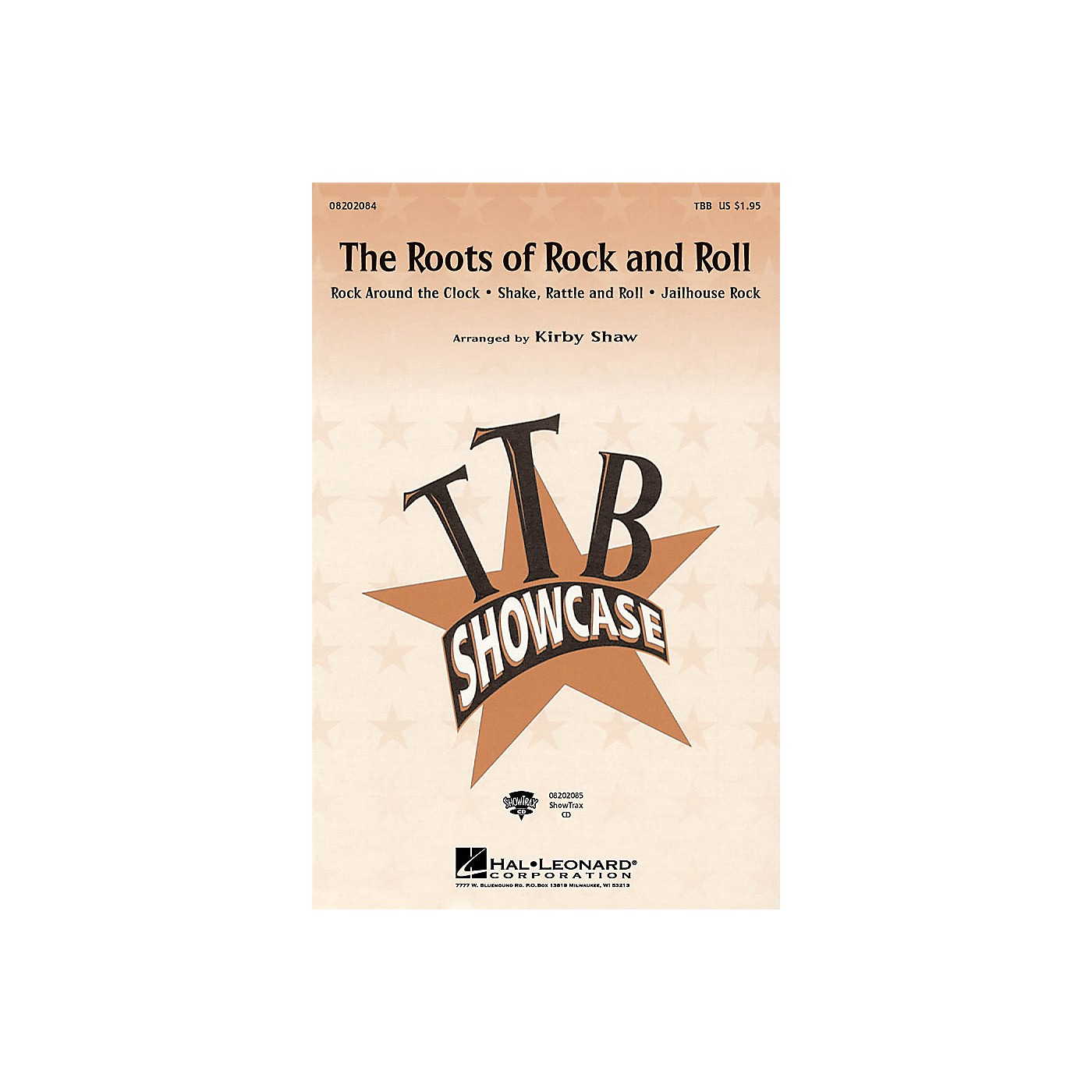 Hal Leonard The Roots of Rock and Roll (Medley) ShowTrax CD Arranged by Kirby Shaw thumbnail