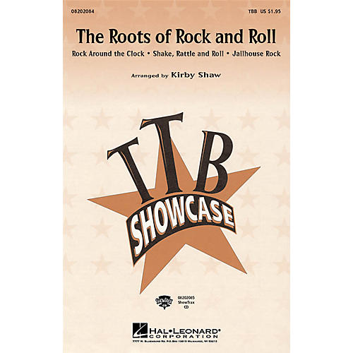 Hal Leonard The Roots of Rock and Roll (Medley) TBB arranged by Kirby Shaw thumbnail