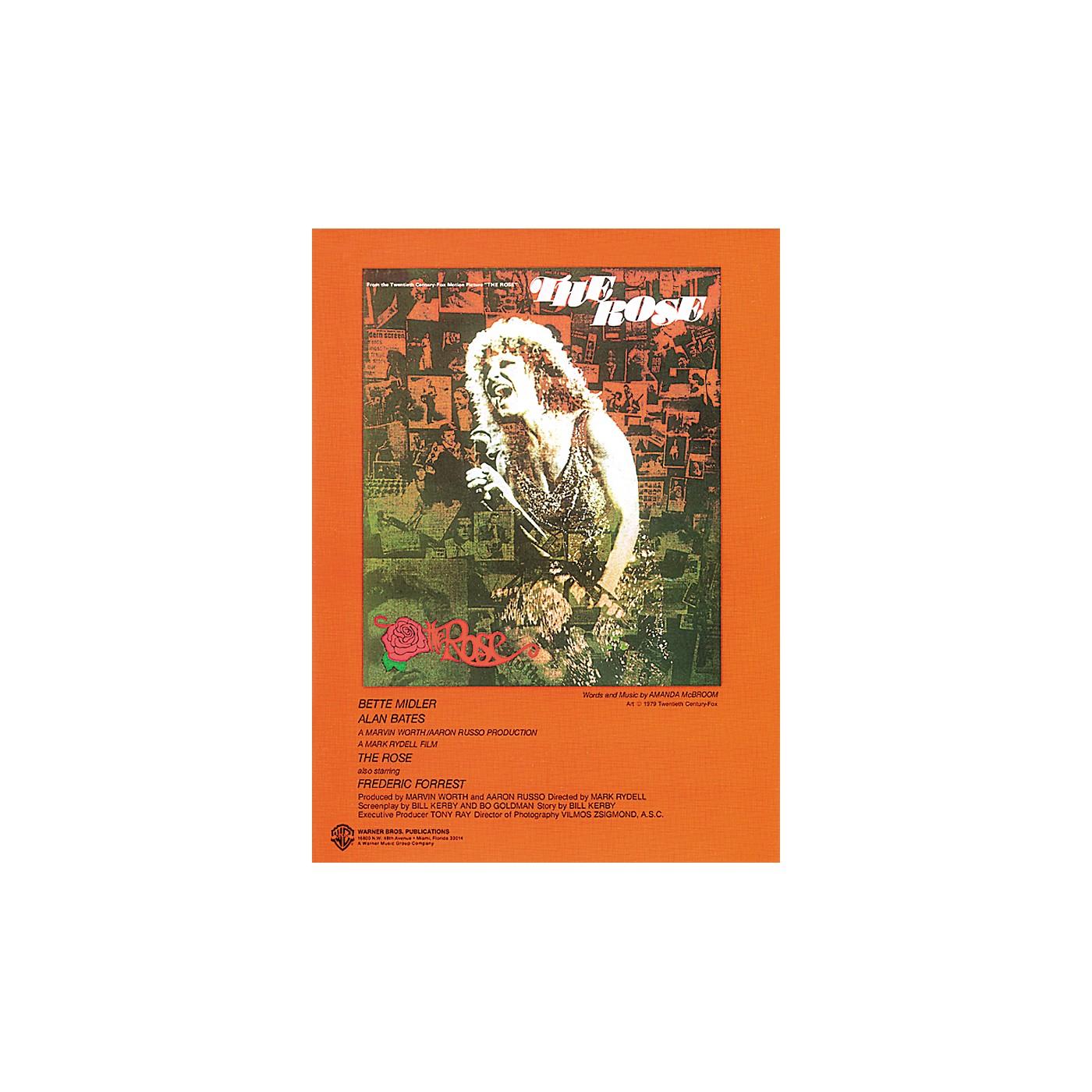 Alfred The Rose Piano/Vocal/Chords Sheet thumbnail