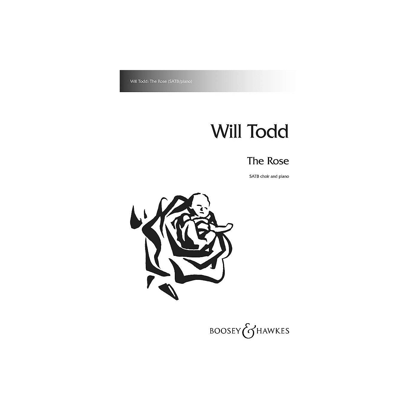 Boosey and Hawkes The Rose SATB composed by Will Todd thumbnail