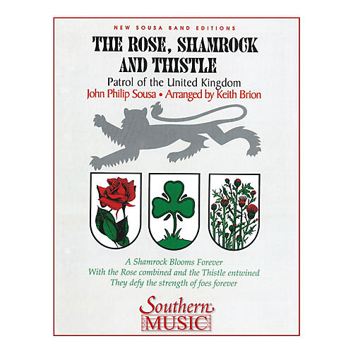 Southern The Rose, Shamrock & Thistle (Band/Concert Band Music) Concert Band Level 3 Arranged by Keith Brion thumbnail