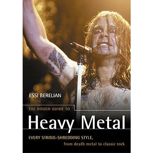 Penguin Books The Rough Guide To Heavy Metal Book-thumbnail