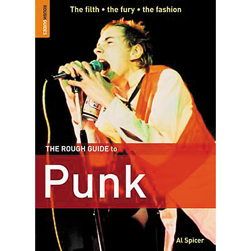Penguin Books The Rough Guide To Punk Book-thumbnail