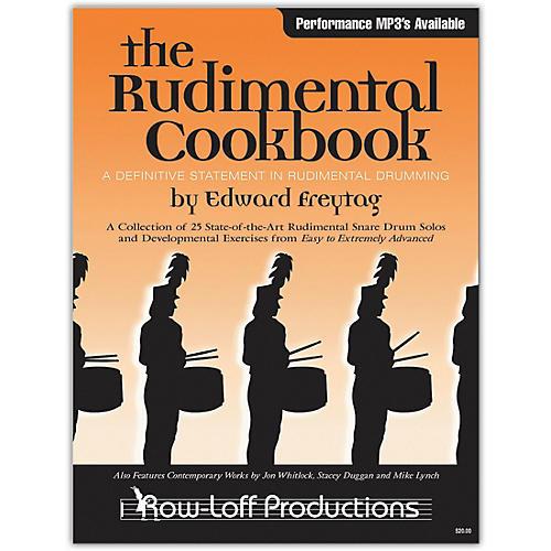 Row-Loff The Rudimental Cookbook (Book/Online Audio) thumbnail