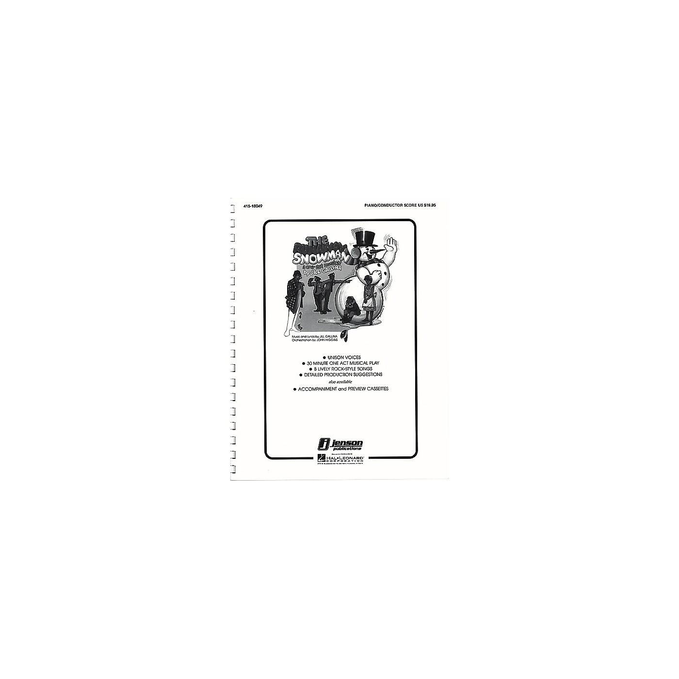 Hal Leonard The Runaway Snowman (Holiday Musical) Singer Composed by Jill Gallina thumbnail