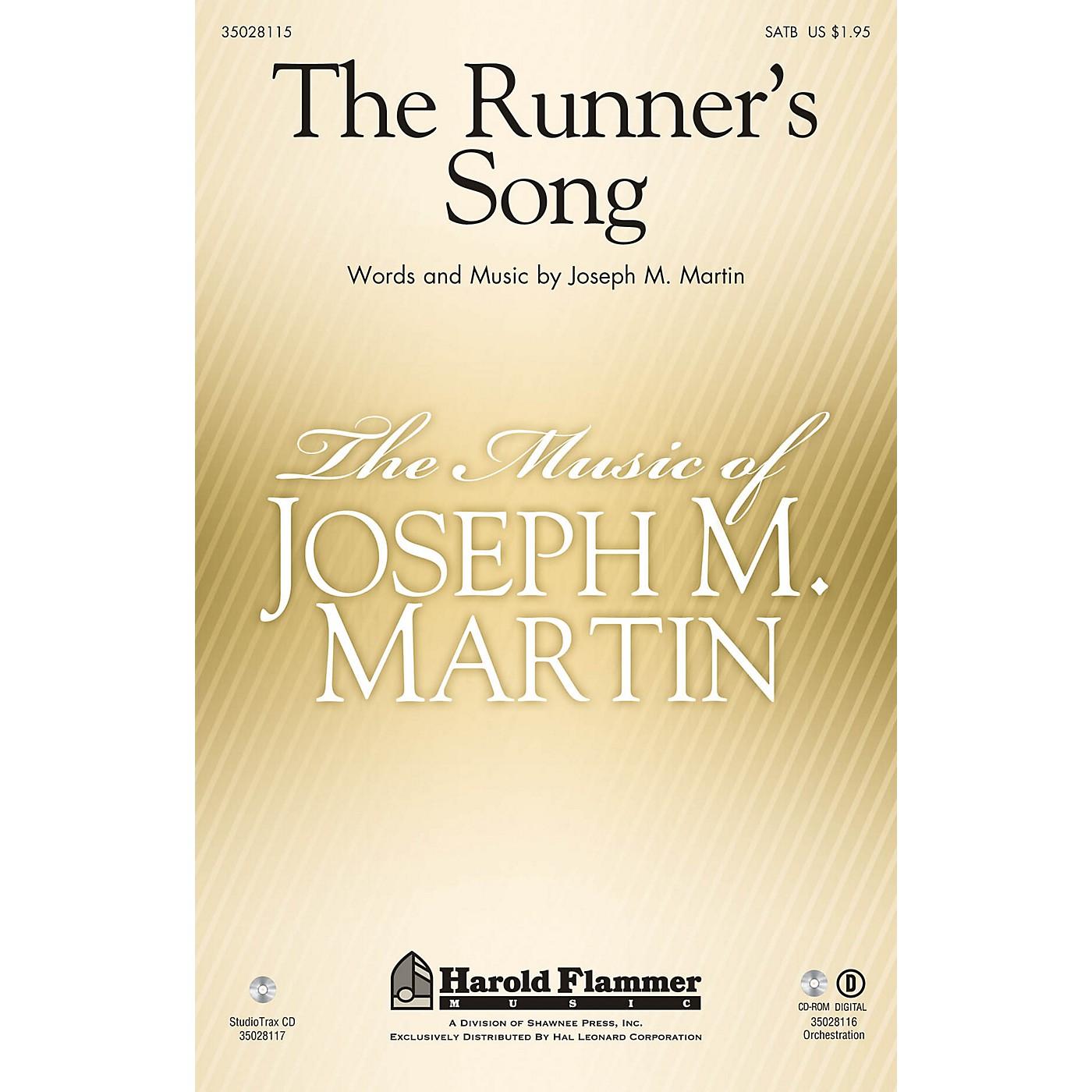 Shawnee Press The Runner's Song Studiotrax CD Composed by Joseph M. Martin thumbnail