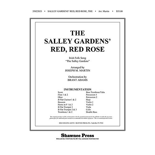 Shawnee Press The Salley Gardens' Red, Red Rose Score & Parts Arranged by Joseph M. Martin thumbnail