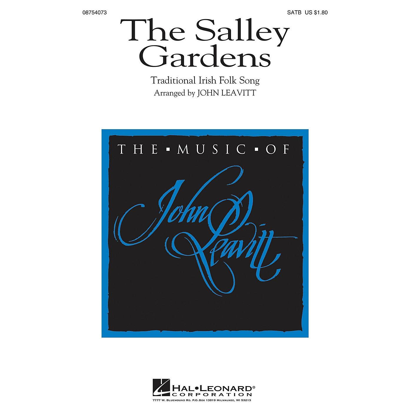 Hal Leonard The Salley Gardens SATB arranged by John Leavitt thumbnail