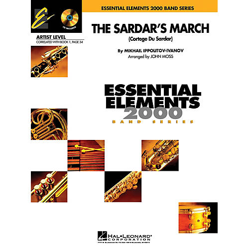 Hal Leonard The Sardar's March (Includes Full Performance CD) Concert Band Level 1 Arranged by John Moss thumbnail