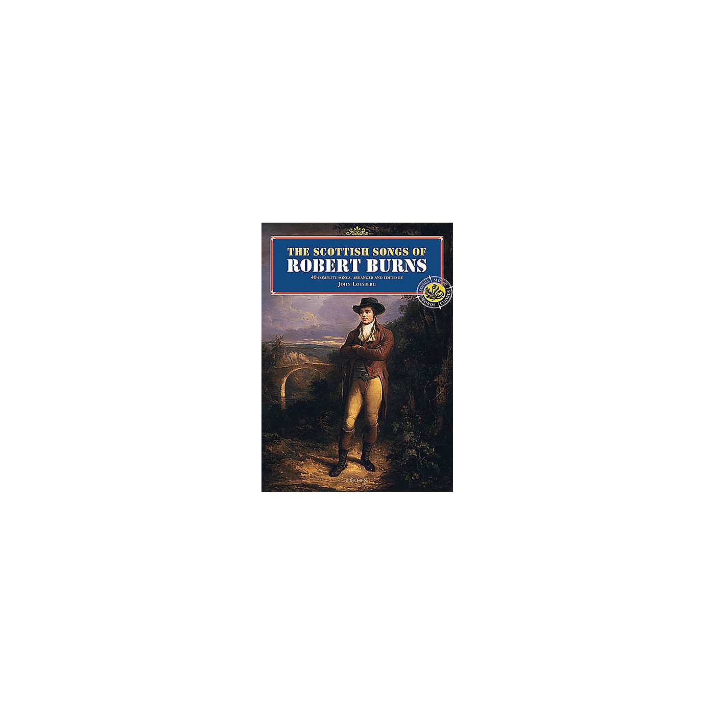 Music Sales The Scottish Songs of Robert Burns Music Sales America Series Softcover thumbnail