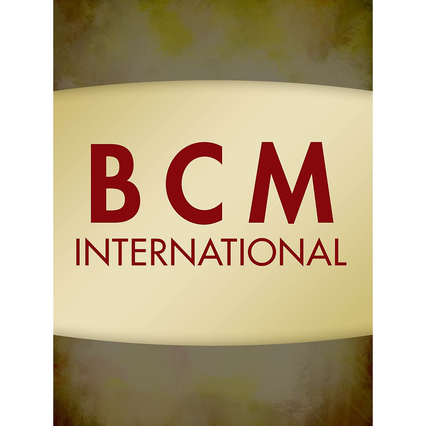 BCM International The Seal Lullaby Concert Band Level 4 Composed by Eric Whitacre thumbnail