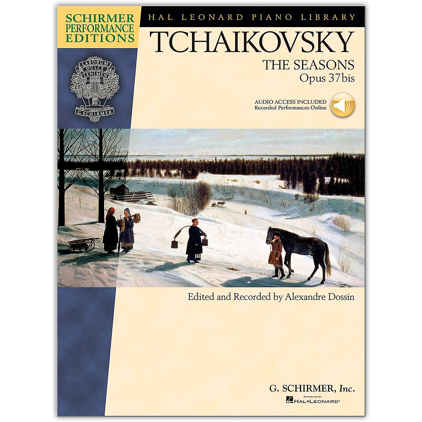 G. Schirmer The Seasons - Schirmer Performance Edition Book/Online Audio By Tchaikovsky / Dossin thumbnail