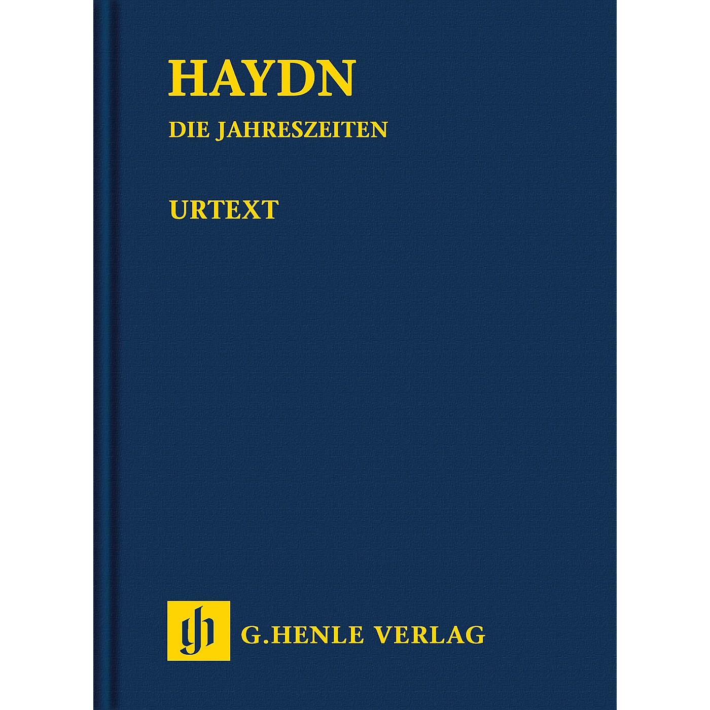 G. Henle Verlag The Seasons Hob. XXI:3 Henle Study Scores Series Hardcover Composed by Joseph Haydn Edited by Armin Raab thumbnail