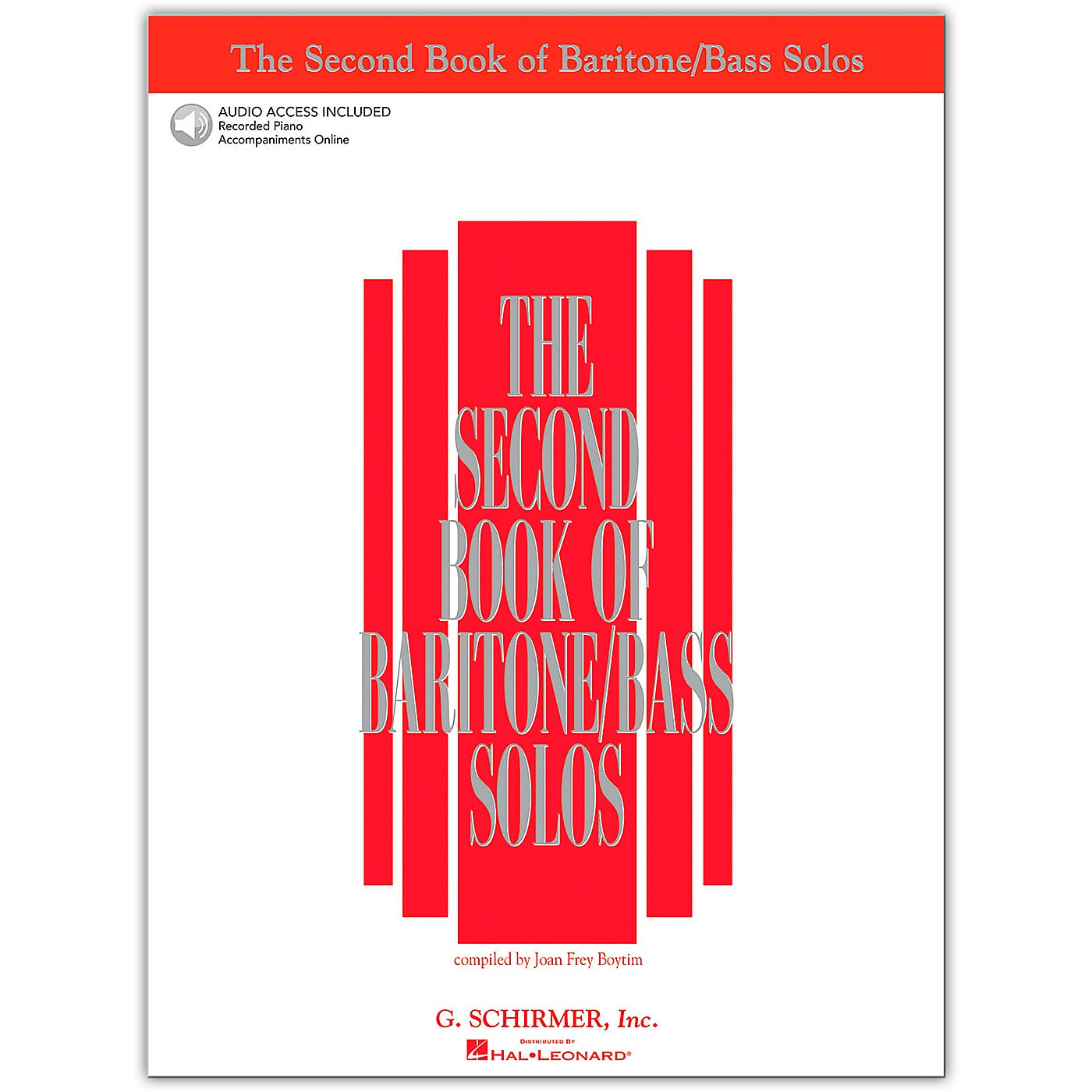 G. Schirmer The Second Book/Online Audio Of Baritone / Bass Solos Book/Online Audio thumbnail
