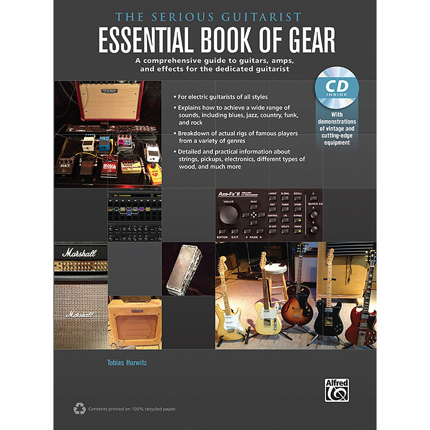 Alfred The Serious Guitarist Essential Book of Gear Book & CD thumbnail
