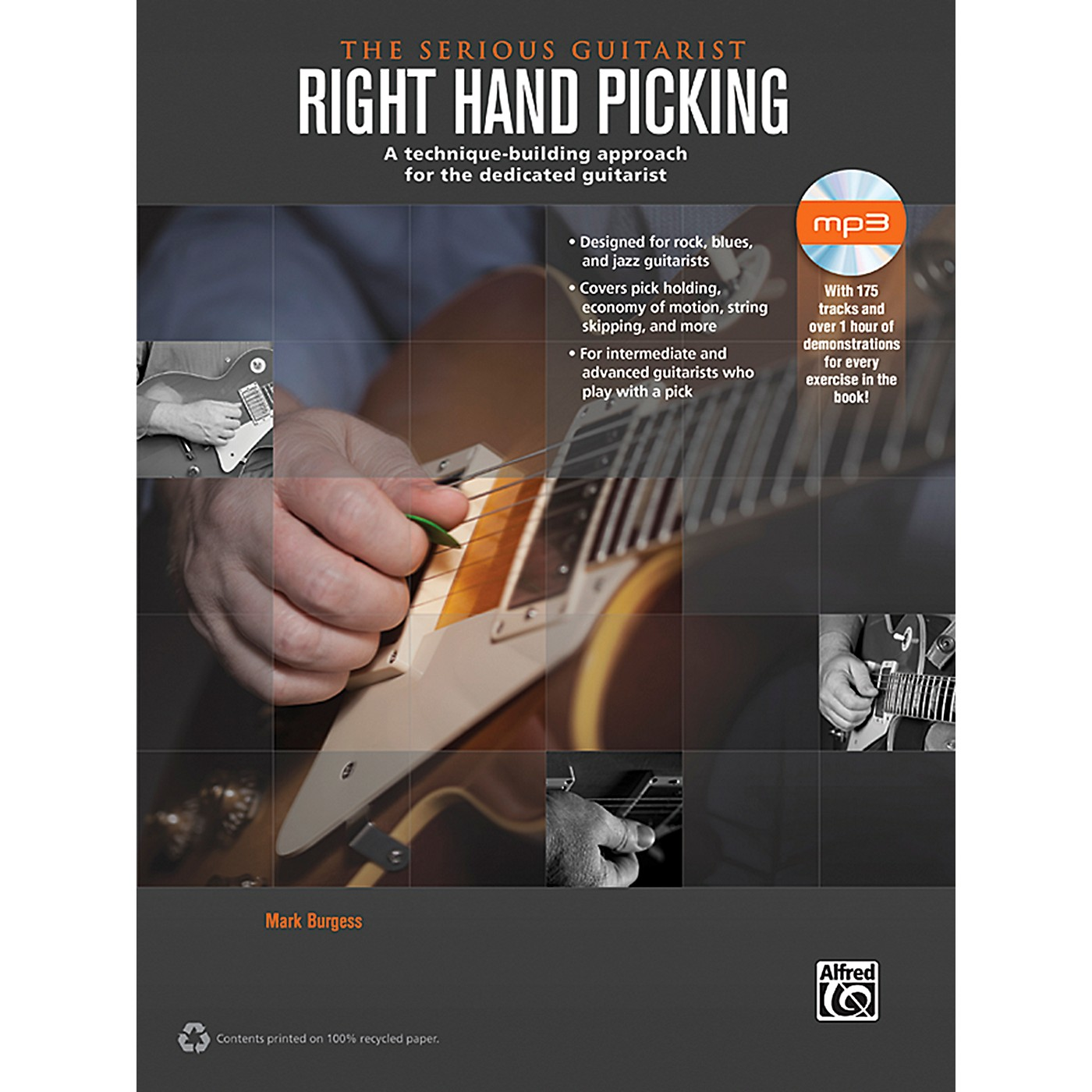 Alfred The Serious Guitarist: Right Hand Picking Book & CD thumbnail