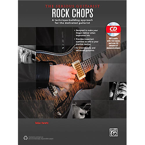 Alfred The Serious Guitarist Rock Chops Book & CD thumbnail
