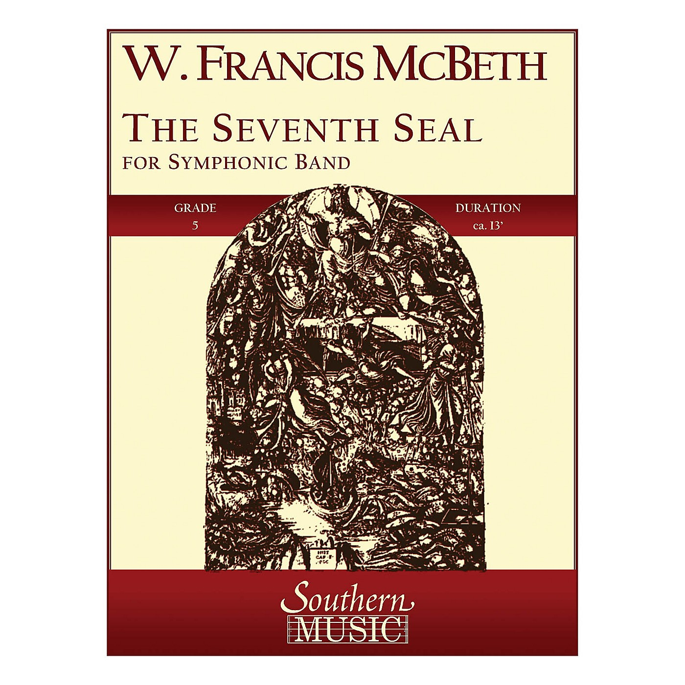 Southern The Seventh Seal (Band/Concert Band Music) Concert Band Level 5 Composed by W. Francis McBeth thumbnail