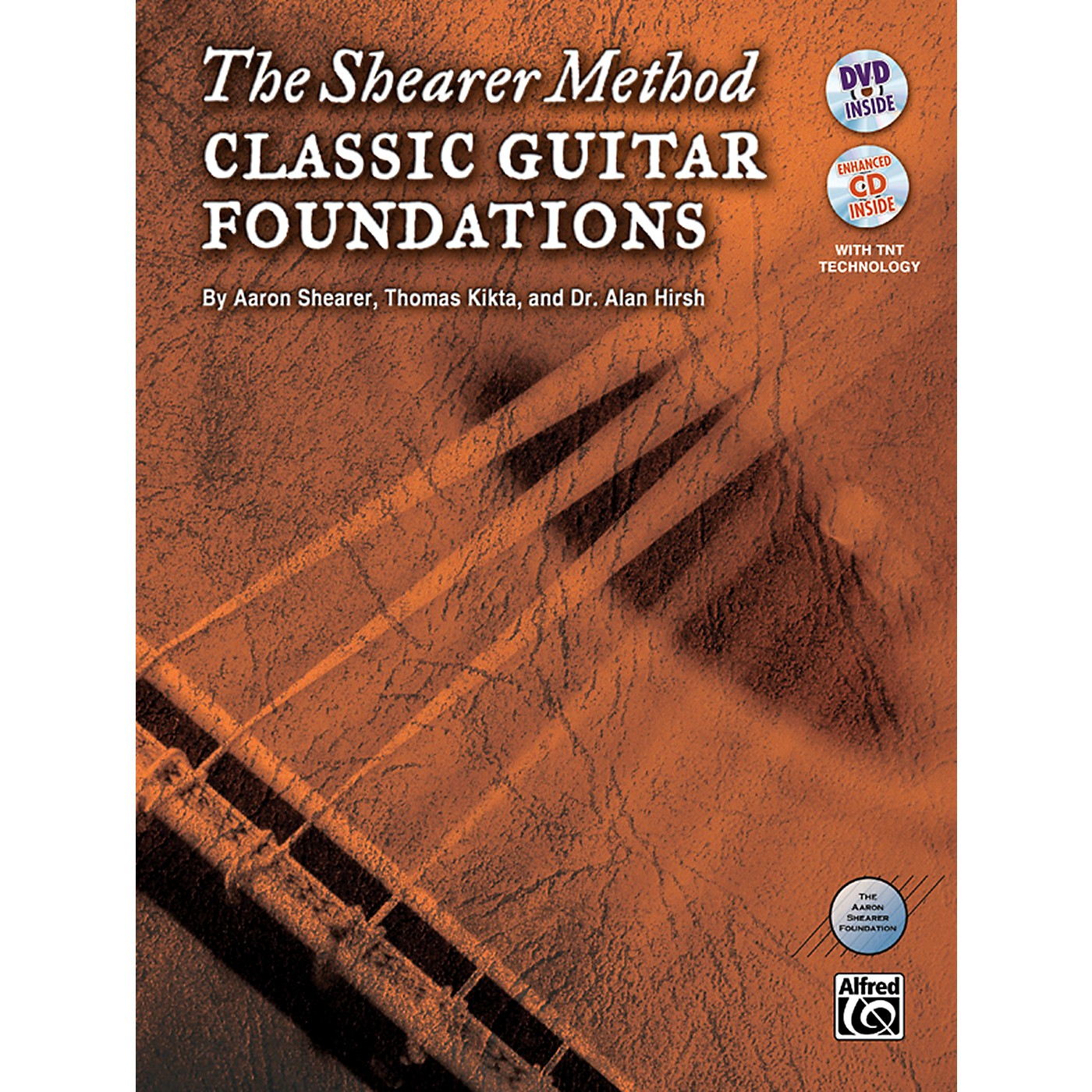 Alfred The Shearer Method: Classic Guitar Foundations (Book, CD & DVD) thumbnail
