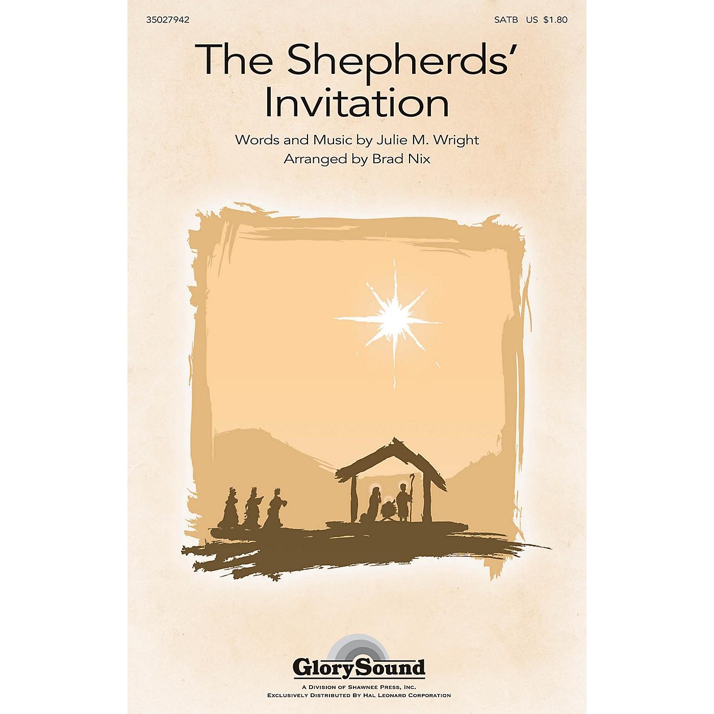 Shawnee Press The Shepherds' Invitation SATB arranged by Brad Nix thumbnail